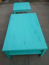 Distressed Coffee and end table set San Fernando, 91340