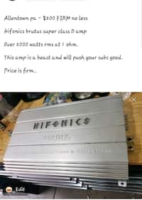 Used and new car amplifier in Allentown - letgo