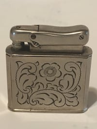 Antique Ibelo Monopol lighter w original cloth case Made in Germany Jersey City, 07307
