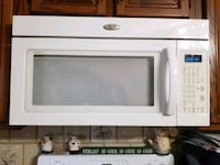 white General Electric microwave oven Framingham, 01702