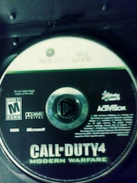 Call of Duty 4 Xbox 360 game disc Vallejo, 94591
