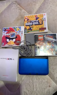 Nintendo 3DS XL with games and charger  Lakeville, 55024