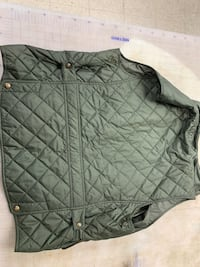 Polo Ralph Lauren Quilted Olive Vest XL
