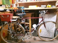 Vintage bike with new rackand box Vancouver, V5L 3A9