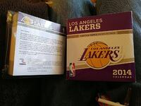 2014 Lakers calender  Seattle, 98146