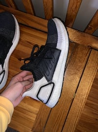 Ultra boost 19 black and white size 11