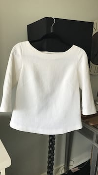 Club Monaco Open Back Top - Size 4