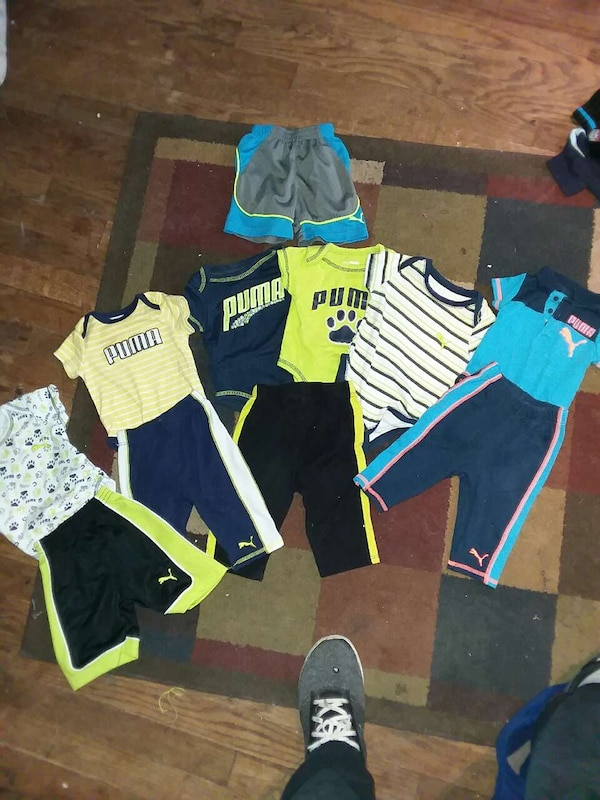 Baby boy puma lot 0-3 months and 3-6 months