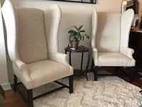 2 RH French Upholstered Wing Chairs Austin, 78703
