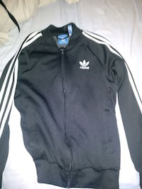 black and white Adidas zip-up jacket Toronto, M2R 3B1