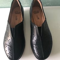 Clark's slip on loafers
