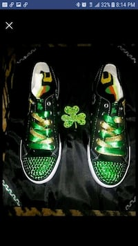 Customized ST. PATRICK'S DAY sneakers Eastpointe, 48021
