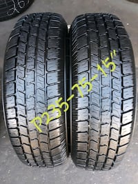 """Pair 235-75-15"""" SIGMA SHADOW RADIAL West Valley City, 84119"""