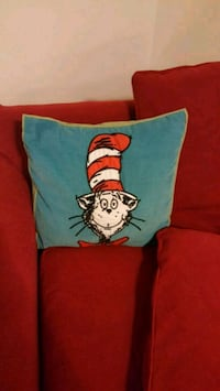 Pottery Barn Cat in The Hat pillow Harpers Ferry, 25425