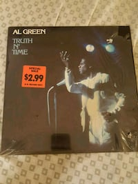 "Al Green ""Truth N' Time"" vinyl album La Plata, 20646"