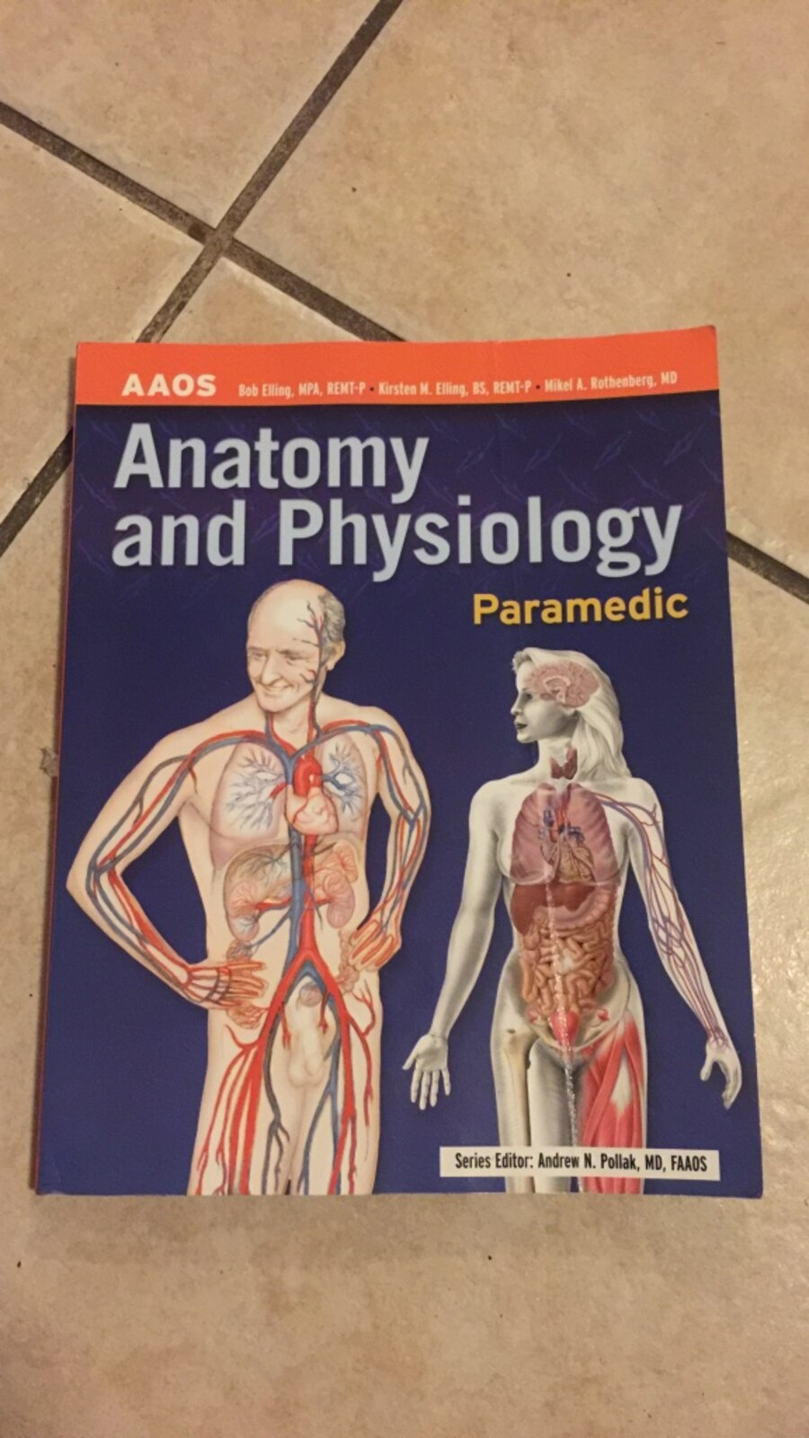 Used Anatomy and Physiology paramedic soft cover textbook. in Miami ...