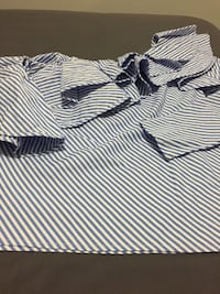 white and black striped polo shirt Whitby, L1N 2H6