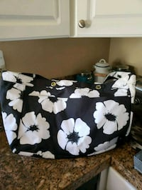 white and black floral tote bag San Marcos, 92069