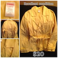 "Girls ""Gymboree"" trench coat size 10/12 Edmonton, T5T 3E9"