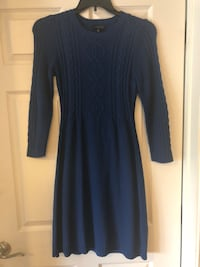 women's blue long-sleeved dress Fairfax