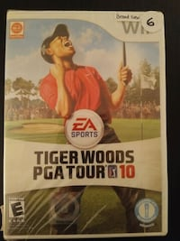 Brand New Wii game Tiger Woods PGA Tour '09  Vaughan, L4L