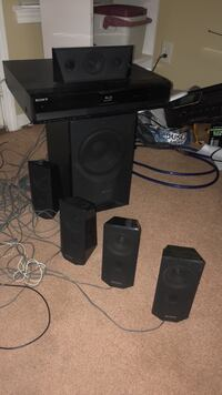 Sony blueray and surround sound system Charlotte, 28262