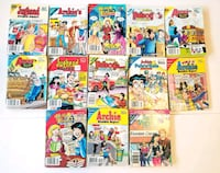 Archie comics - lot of 15