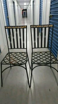 Wrought Iron Mosaic Patio Chairs Chevy Chase, 20815