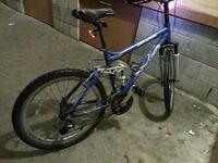 blue and gray hardtail mountain bike Torrance, 90503