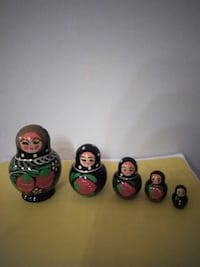 Gorgeous Looking Rare Vintage Nesting Dolls! Chicago