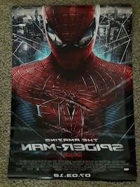 The Amazing Spiderman movie poster Cape Fair, 65624