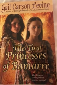 The two princesses of bamarre by gail carson levine book Elk River, 55330
