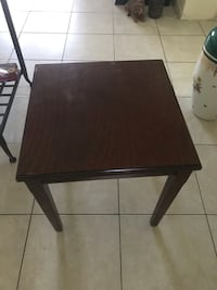 Wooden side table  Fort Lauderdale, 33308