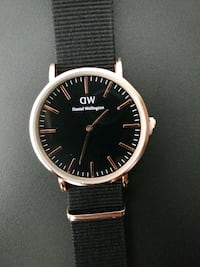 Black and rosegold watch!!