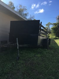 Black and gray utility trailer Vero Beach, 32962