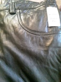 MENS WILSON LEATHER PANTS TAG STILL ON NEW