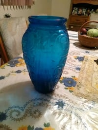Big blue glass vase Albuquerque, 87112