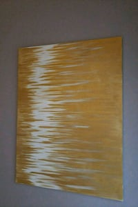 Gold and white. Hand made acrylic painting .NEW. Woodbridge, 22192