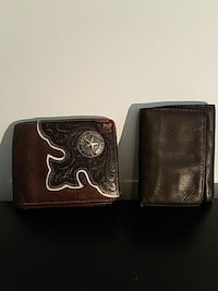 Two Leather Wallets $5 each