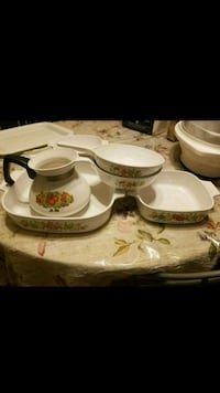 Spice of life corning set  Sterling, 20164