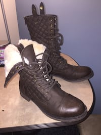 Chocolate Boots (Size 9.5) Baltimore, 21207