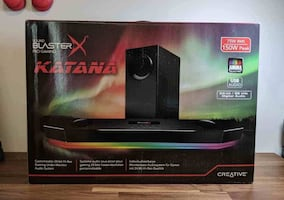 Creative Sound Blaster X Katana Gaming Soundbar 7.1 Dolby Surround