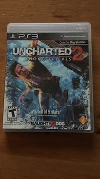 Uncharted 2 - Among Thieves PS3 game Spencer, 51301