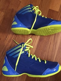 pair of blue-and-green Nike basketball shoes Yorktown Heights, 10598