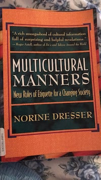 Multicultural Manners New  Rules of Etiquette for a Changing Society Freehold, 07728