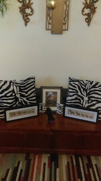 Zebra print pillows and accessories Taylors, 29687