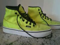 Neon Green Hightop Vans  548 km
