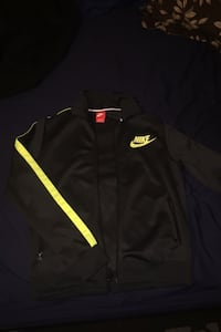 Nike Medium track jacket neon highlight yellow