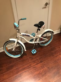 white and teal beach cruiser bicycle Vaughan, L4J 8T6