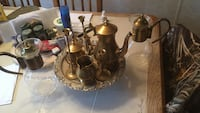 Assorted gold turkish kettle set Morganton, 28655